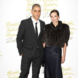 Husam El Odeh in The British Fashion Awards 2010 - Arrivals