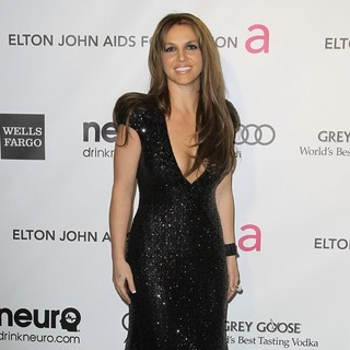 Britney Spears in 21st Annual Elton John AIDS Foundation's Oscar Viewing Party