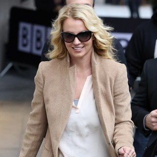 Britney Spears in Celebrities at The BBC Radio 1 Studios