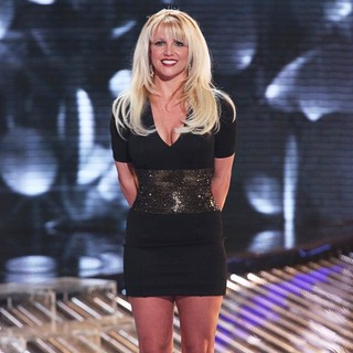 Britney Spears in FOX's The X Factor Season 2 Top 11 Live Performance Show
