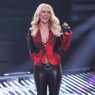 Britney Spears in FOX's The X Factor Season 2 Top 13 Live Performance Show