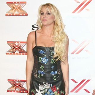 Britney Spears in The X Factor 2012 Final Four Party