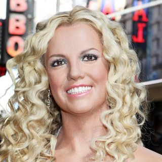 Britney Spears - Britney Spears Wax Figure Is Unveiled Outside Madame Tussauds