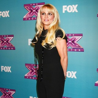 Britney Spears in The X Factor Season Finale Performances Show