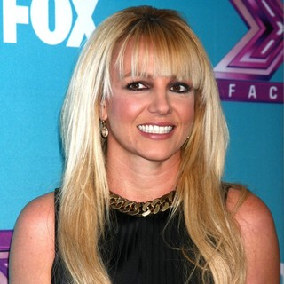 Britney Spears in X Factor USA Finals Press Confrence