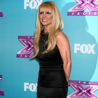 Britney Spears - X Factor USA Finals Press Confrence
