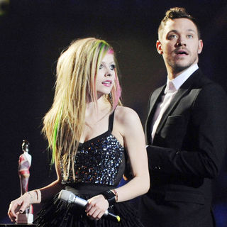 Avril Lavigne, Will Young in The BRIT Awards 2011 - Inside
