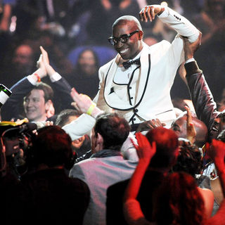 Tinie Tempah in The BRIT Awards 2011 - Inside