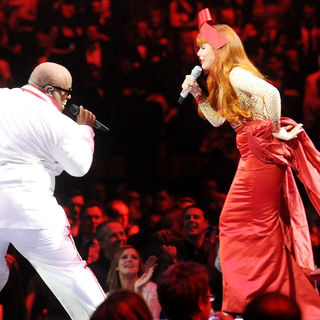 Cee-Lo, Paloma Faith in The BRIT Awards 2011 - Inside
