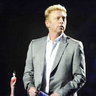 Boris Becker in The BRIT Awards 2011 - Inside