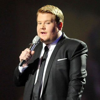 James Corden in The BRIT Awards 2011 - Inside