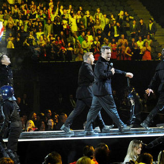 Take That in The BRIT Awards 2011 - Inside