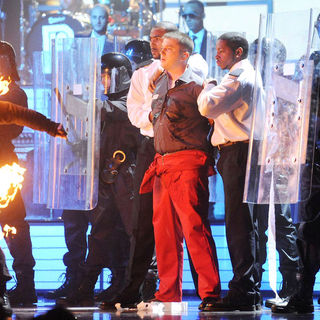 Plan B in The BRIT Awards 2011 - Inside