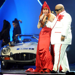 Paloma Faith, Cee-Lo in The BRIT Awards 2011 - Inside