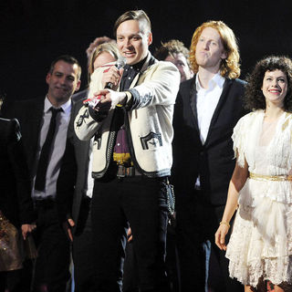 Arcade Fire - The BRIT Awards 2011 - Inside