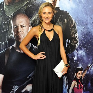 Brittany Cairns in G.I. Joe: Retaliation - Sydney Premiere