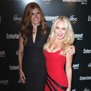 Connie Britton, Hayden Panettiere in Entertainment Weekly and ABC TV Celebrate The New York Upfronts with A VIP Cocktail Party - Arrivals