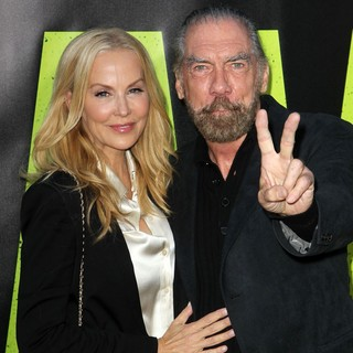 Eloise Broady, John Paul DeJoria in The Premiere of Savages