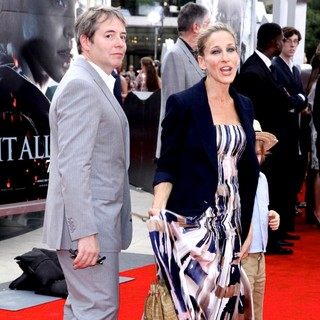 Matthew Broderick, Sarah Jessica Parker in New York Premiere of Harry Potter and the Deathly Hallows Part II - Arrivals