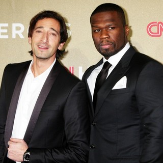 Adrien Brody, 50 Cent in CNN Heroes: An All-Star Tribute - Arrivals