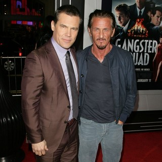 Josh Brolin in The Los Angeles World Premiere of Gangster Squad - Arrivals - brolin-penn-premiere-gangster-squad-01