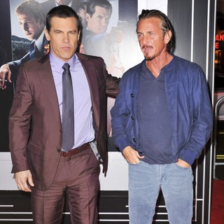 Josh Brolin in The Los Angeles World Premiere of Gangster Squad - Arrivals - brolin-penn-premiere-gangster-squad-04