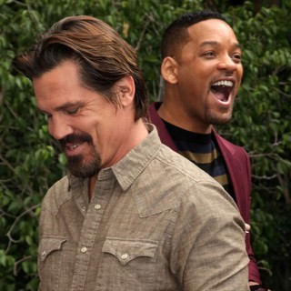 Josh Brolin, Will Smith in Men in Black 3 Photocall