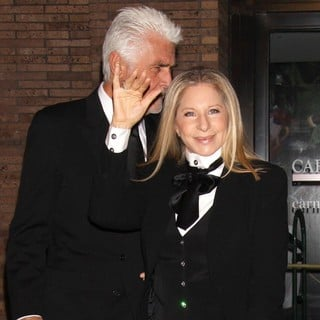 James Brolin, Barbra Streisand in Glamour Magazine's 23rd Annual Women of The Year Gala - Arrivals