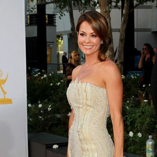 Brooke Burke in 64th Annual Primetime Emmy Awards - Arrivals