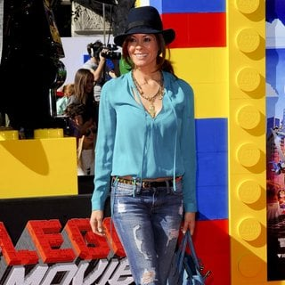 Brooke Burke in The Los Angeles Premiere of The Lego Movie - Arrivals