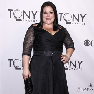 Brooke Elliott in The 65th Annual Tony Awards - Arrivals