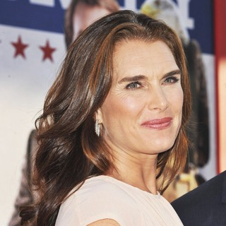 Brooke Shields in Los Angeles Premiere of The Campaign - Arrivals
