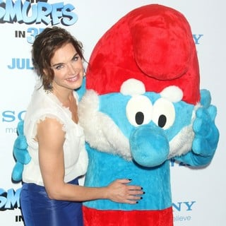 Brooke Shields in The Smurfs World Premiere - Arrivals
