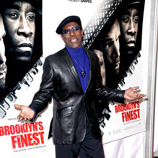 Wesley Snipes in New York Premiere of 'Brooklyn's Finest'