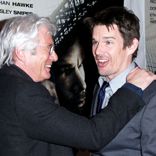 Richard Gere, Ethan Hawke in New York Premiere of 'Brooklyn's Finest'