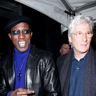 Wesley Snipes, Richard Gere in New York Premiere of 'Brooklyn's Finest'