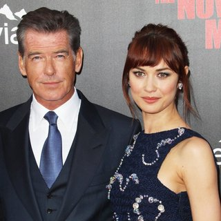 Pierce Brosnan, Olga Kurylenko in Los Angeles Premiere of The November Man - Arrivals