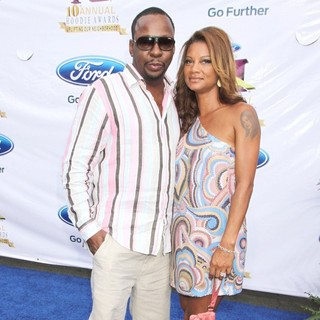 Bobby Brown, Alicia Etheredge in The 10th Annual Ford Hoodie Awards - Arrivals