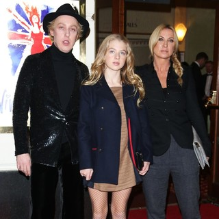James Brown (II), Anais Gallagher, Meg Mathews in VIVA Forever Spice Girls The Musical - Arrivals