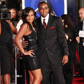 Bobbi Kristina Brown, Nick Gordon in The Los Angeles Premiere of Sparkle - Inside Arrivals