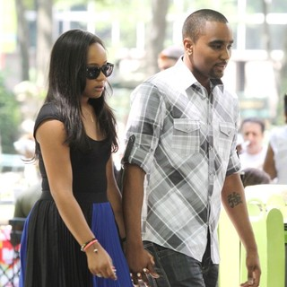 Bobbi Kristina Brown, Nick Gordon in Shoot Scenes for Reality Show
