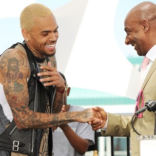 Chris Brown in BET Awards 2013 Press Conference - brown-hill-bet-awards-2013-press-conference-01