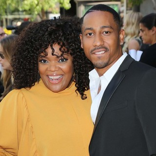 Yvette Nicole Brown, Brandon T. Jackson in Percy Jackson: Sea of Monsters Premiere