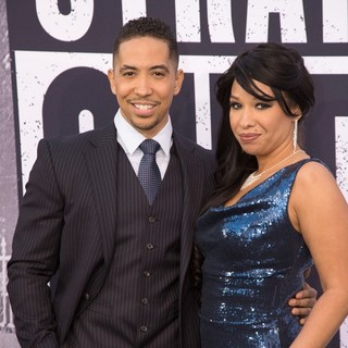 Neil Brown Jr., Catrina Robinson in World Premiere of Universal Pictures' Straight Outta Compton - Arrivals
