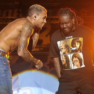 Chris Brown, T-Pain in B96 Pepsi SummerBash 2011