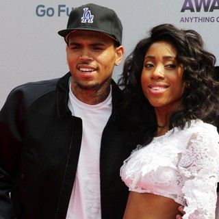 Chris Brown, Sevyn Streeter in The 2013 BET Awards - Arrivals