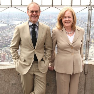 Alton Brown, Susan Ungaro in Celebration of The James Beard Foundation's 25th Anniversary with Alton Brown