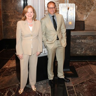Susan Ungaro, Alton Brown in Celebration of The James Beard Foundation's 25th Anniversary with Alton Brown