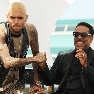 Chris Brown in BET Awards 2013 Press Conference - brown-wilson-bet-awards-2013-press-conference-01