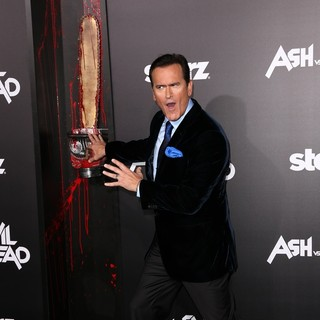 Bruce Campbell in STARZ Presents The Los Angeles Premiere of Ash vs. Evil Dead - Arrivals